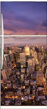 Sticker frigo électroménager déco cuisine New york City 70x170cm réf 550