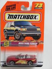 MATCHBOX 1998  #73 OF 75  MUSTANG COBRA - STREET CRUISERS