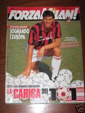 FORZA MILAN 1992/4 MARCO VAN BASTEN FOTO GOL PAOLO MALDINI TOTO COTUGNO
