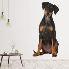 Doberman Puppy Dog Muursticker WS-43098