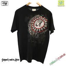Mexican theme T-shirt, men's, Maya, Stone, Tribal design