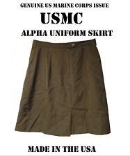 USMC Womens Female Charlie Uniform Skirt Marine Corps Alpha Select size Dress