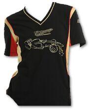 T-SHIRT Tee Ladies Formula One 1 Lotus F1 Team NEW Iceman Raikkonen Black AU
