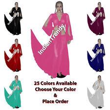 25 Color Skirt + Harem Top Choli Belly Dance Costume Tribal Dress Elastic Sleeve