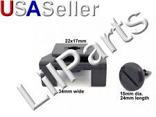 Bumper Cover Clip Fender Liner Retainer Nylon Fastener Toyota Lexus 53879-28010