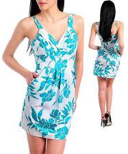 WOMENS DRESS Sun Hawaiin style floral print babydoll cotton 0 1 3 5 7 9 11 13