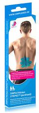RÜCKEN TAPE Kinesiologie Pre Cut Physio Tape vorgeschnitten - Restposten