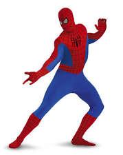 Mens Adult Marvel Skinovations Spiderman Lycra Zentai Bodysuit Spandex Costume