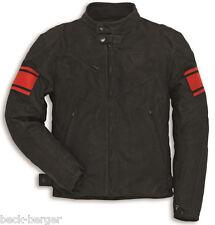 DUCATI Dainese CLASSIC C2 Retro Lederjacke Jacke Leather Jacket schwarz NEU !!