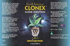 Clonex Cloning / Seedling Feeding Solution All Custom Sizes Available BAY HYDRO