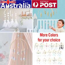 Baby Crib Mobile Bed Bell Holder Arm Bracket Hanging Wind Toys Gift DIY  -