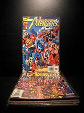 COMICS: Marvel: AVENGERS # 1-14 set (14 books), Perez - RARE (figure)