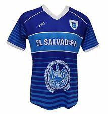 El Salvador Soccer Men's Jersey Exclusive Design 100% Polyester