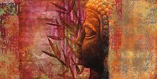 Joannoo: Inspirational Keilrahmen-Bild Leinwand Buddha Feng-Shui Asia-Style