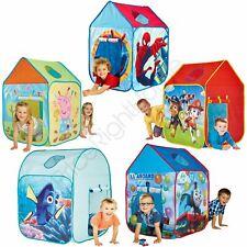 CHARACTER KIDS WENDY HOUSE PLAY TENTS - PEPPA PAW PATROL THOMAS CARS SPIDERMAN