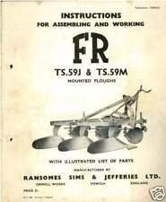 RANSOMES ARATRO ts59j ts59m operatori manuale-ts59