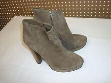 BCBGeneration BCBG Joe Sana 10 M Leather Heels Boots Light Brown Shoes