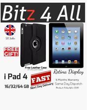 Apple iPad 4th Generation 16GB, 32GB, 64GB Wifi + Cellular A/B Grade Sale Price