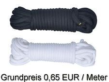 2x 10 m Bondageseil (0,65 EUR/m) Bondage Seil  2 x 10m blau weiß rot schwarz 20m