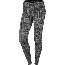 "Women's Nike Sports Wear Leggings ""Leg A See"" Grey/Black Athletic 805537 091"