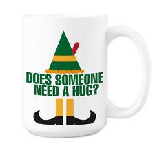 Buddy the Elf Mug Does Someone Need a Hug Coffee Mugs Elf Movie Mug for Christma