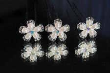 Horquillas pedrería perlas pelo joyas novia joyas boda novia comunión tiara