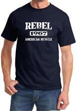 1967 AMC Rebel American Muscle Car Classic Design Tshirt NEW FREE SHIP