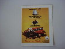 advertising Pubblicità 1969 FERRERO POCKET COFFEE