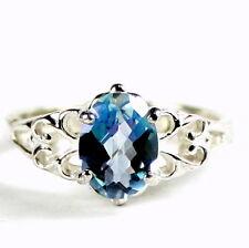 Neptune Garden Topaz, 925 Sterling Silver Ring, SR302-Handmade