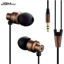 Super Quality Sound Earphones Genuine JBM Handsfree Headphones Earbud with POUCH