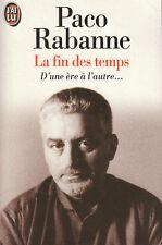"""Livres de Poche - La Fin des Temps - d 'une ère à l'Autre """" ( No 72 )"""