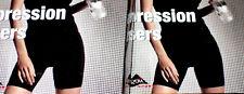 2er Pack Damen Kompressions Shorts 2x Fitness Hose kurz schwarz Gr.S M L NEU