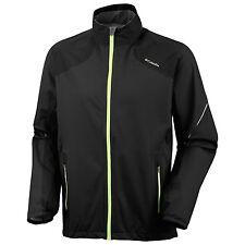 Men's Columbia Omni-Wick Flyin' Dry Shell Rain Wind Jacket Grey Black XL XXL