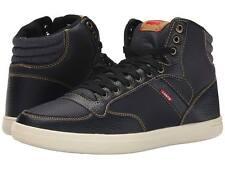 LEVIS 516728-Q66 WESLEY HI CASUAL Mn's (M) Black Textile Lifestyle Shoes