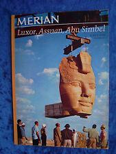 """MERIAN - Luxor, Assuan, Abu Simbel (Heft-Nr. 12 vom Dezember 1967)"""