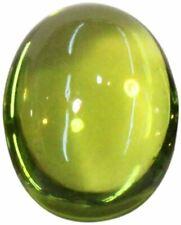 Natural Extra Fine Green Green Peridot - Oval Cabochon - Arizona - AAA+ Grade