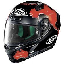 X-Lite X-803 C. Checa Plana Rojo * Exclusivo carrera Casco De Motocicleta