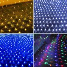 3M*2M 200 LED Net Mesh Christmas Fairy String Lights Xmas Party Outdoor Decor