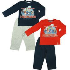 AVENGERS pigiama bambino maglietta manica lunga+ pantalone super eroi cotone