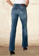 Lee Marion Vaqueros NUEVO w26-w33 L33 Pantalón de mujer azul Boot-Cut Denim