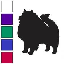 Keeshond Dog Decal Sticker Choose Color + Large Size #lg1972