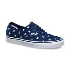 3d1e27f88274d4 VANS x NY YANKEES Authentic Mens Shoes NEW YORK Navy MLB BASEBALL Free  Shipping