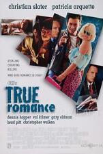 TRUE ROMANCE MOVIE POSTER FILM A4 A3 ART PRINT CINEMA