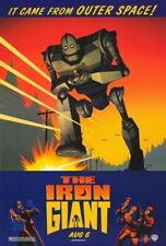70769 Iron Giant Movie Vin Diesel, Jennifer Aniston FRAMED CANVAS PRINT UK