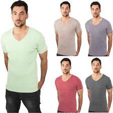 Urban Classics T-Shirt Herren V-Neck V-Ausschnitt T Shirt S M L XL