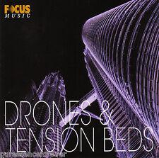 V/A - Drones & Tension Beds (UK/EU 70 Atmospheric & FX Tracks CD Album)