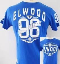 ELWOOD Mens Latest Premium Top Tee T-shirt Size M L XL XXL blue