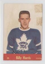 1955-56 Parkhurst #20 Billy Harris Toronto Maple Leafs RC Rookie Hockey Card