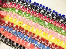 DIY Pom Pom Trim Tassel Ball Fringe Ribbon Braid Wedding Xmas Decor Ribbon