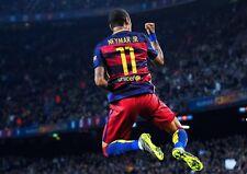 Neymar Barcelona Barca Art Print Photo Pic Poster A3 A4